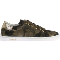 Schoenen Dames Lage sneakers Hip Shoe Style For Women Sneaker Met Army Print Groen Groen