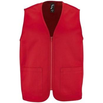 Textiel Jacks / Blazers Sols WALLACE WORK UNISEX Rojo