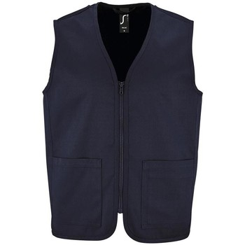 Textiel Jacks / Blazers Sols WALLACE WORK UNISEX Azul