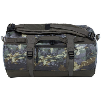 The North Face Base Camp Duffel XS Green Tropical Camo-Taupe