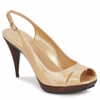 Schoenen Dames Sandalen / Open schoenen Stuart Weitzman ARAGON Beige