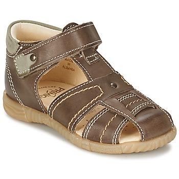 Schoenen Jongens Sandalen / Open schoenen Primigi LARS E Bruin