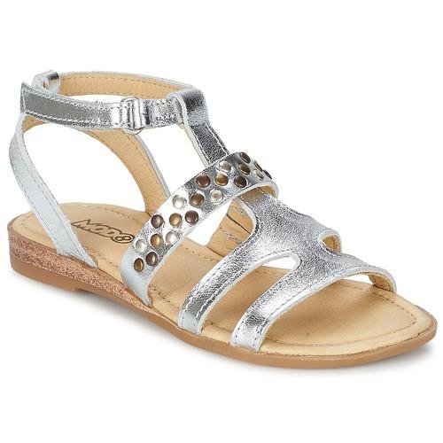 Schoenen Meisjes Sandalen / Open schoenen Mod'8 JADE Zilver