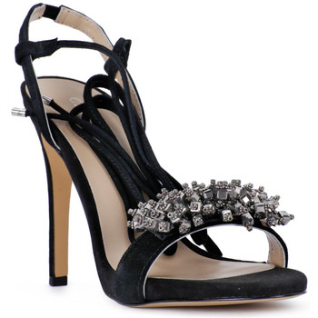 Schoenen Dames Sandalen / Open schoenen Café Noir CAFE NOIR SANDALO ACCESSORIO Nero