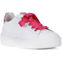 Schoenen Meisjes Lage sneakers NeroGiardini NERO GIARDINI  MANAUS BIANCO Bianco