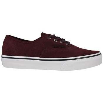 Schoenen Kinderen Skateschoenen Vans authentic suede port royale tweed Bordeaux
