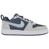 Schoenen Dames Basketbal Nike w court borough low prem 861533 400 blauw