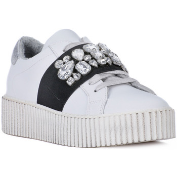 Schoenen Dames Lage sneakers At Go GO GALAXY BIANCO ELSTICO Bianco