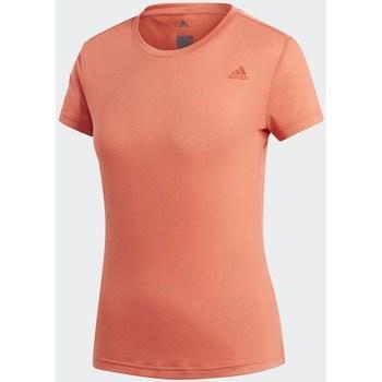 Textiel Dames T-shirts korte mouwen adidas Originals Freelift Prime Oranje
