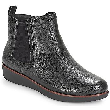 Schoenen Dames Laarzen FitFlop CHAI Zwart