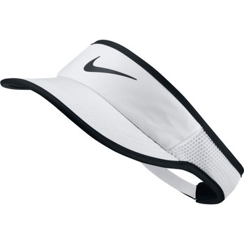 Accessoires Dames Pet Nike AeroBill Featherlight Tennis Visor Wit