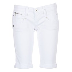 Textiel Dames Korte broeken / Bermuda's Freeman T.Porter BELIXA Wit