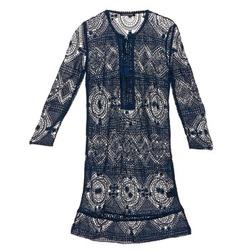 Textiel Dames Korte jurken Antik Batik LEANE Marine
