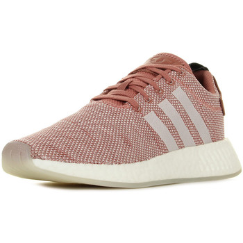 Schoenen Dames Lage sneakers adidas Originals Nmd R2 Roze