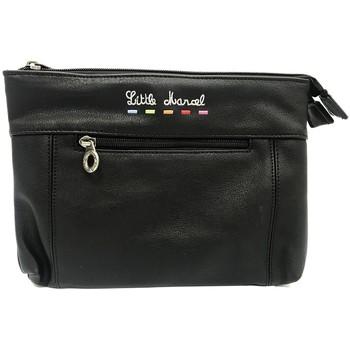 Tassen Dames Tasjes / Handtasjes Little Marcel Pochette ID16-LM-BLACK Zwart