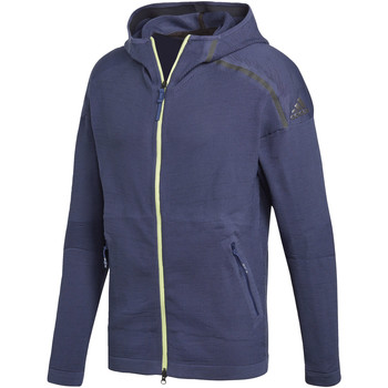 Textiel Heren Trainings jassen adidas Performance adidas Z.N.E. Hoodie blue
