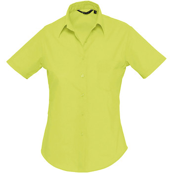 Textiel Dames Overhemden Sols ESCAPE POPELIN WOMEN Verde