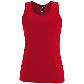 Textiel Dames Mouwloze tops Sols SPORT TT WOMEN Rojo