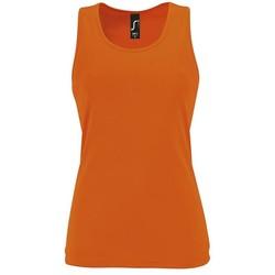 Textiel Dames Mouwloze tops Sols SPORT TT WOMEN Naranja