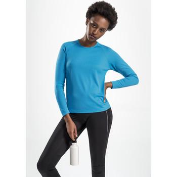Textiel Dames T-shirts met lange mouwen Sols SPORT LSL WOMEN Azul