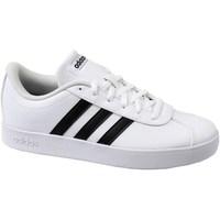 Schoenen Kinderen Lage sneakers adidas Originals VL Court 20 K Wit