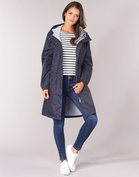 Textiel Dames Parka jassen Aigle FIRSTRAIN Marine