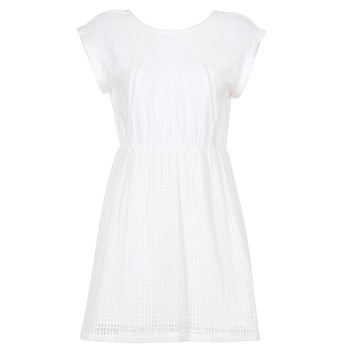 Textiel Dames Korte jurken Moony Mood INDI Wit