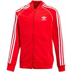 Textiel Meisjes Trainings jassen adidas Originals J SST TOP Rojo