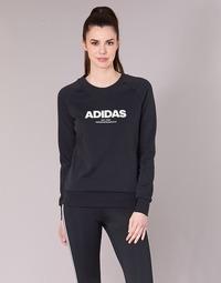 Textiel Dames Sweaters / Sweatshirts adidas Originals ESS ALLCAP SWT Zwart
