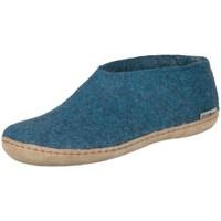 Schoenen Dames Sloffen Glerups A0600 Blauw
