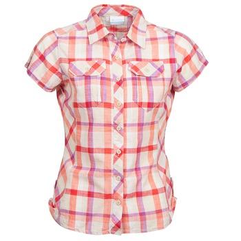 Textiel Dames Overhemden korte mouwen Columbia CAMP HENRY Multi