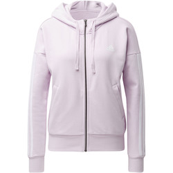 Textiel Dames Trainings jassen adidas Performance Essentials 3-Stripes Hoodie Wit