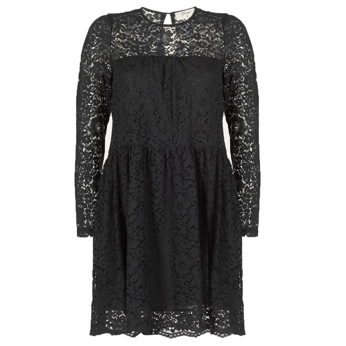 Betty London korte jurk iaouda zwart