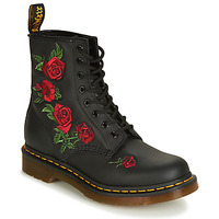 Schoenen Dames Laarzen Dr Martens 1460 VONDA Zwart