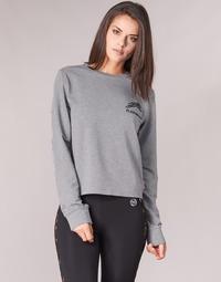 Textiel Dames Sweaters / Sweatshirts Philipp Plein Sport ROUND AIR SQUAT Grijs