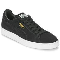 Schoenen Lage sneakers Puma SUEDE CLASSIC Zwart