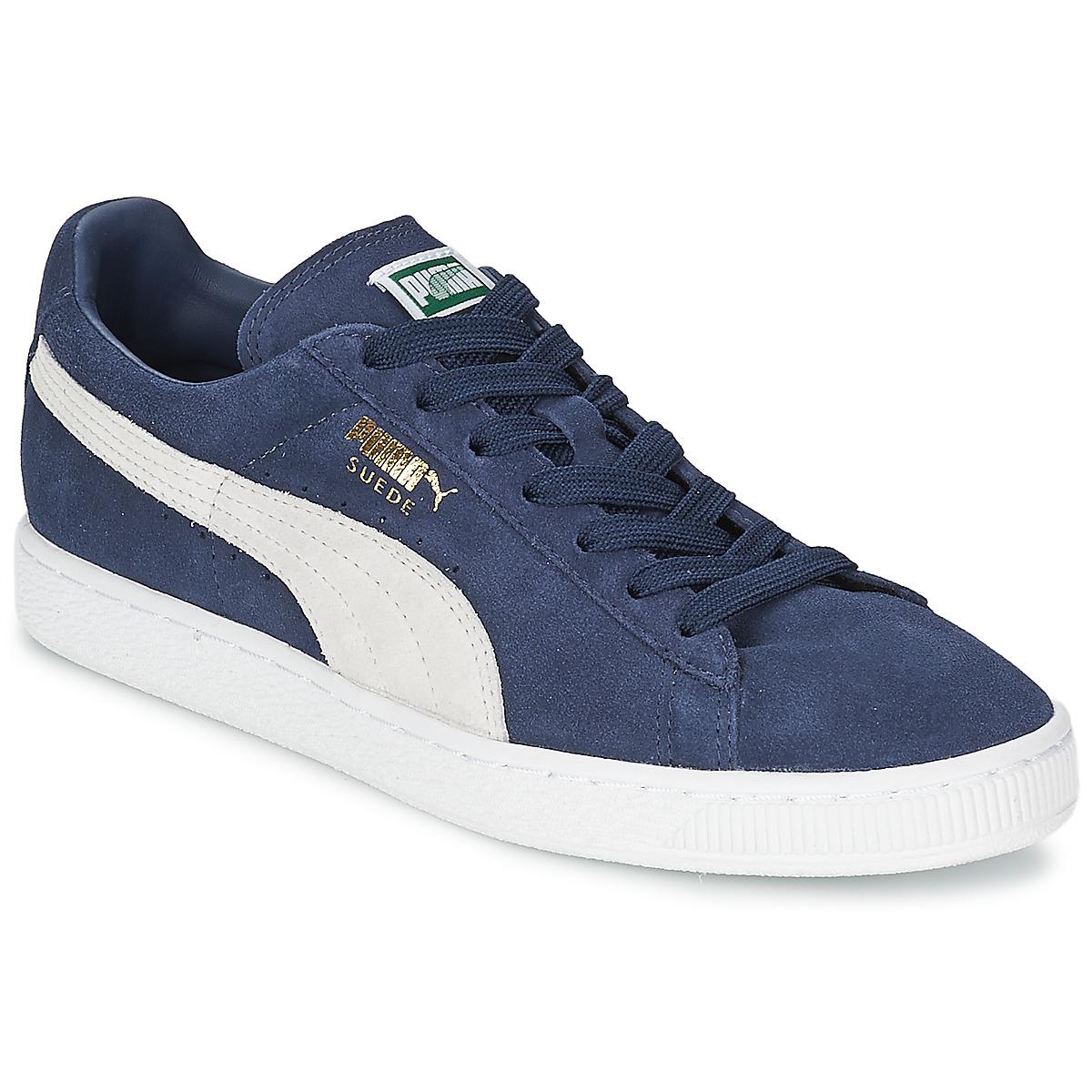 Puma Suede Classic Blauw