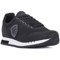 Schoenen Heren Lage sneakers Blauer BLK DETROIT Nero