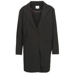 Textiel Dames Mantel jassen Suncoo EVY Zwart