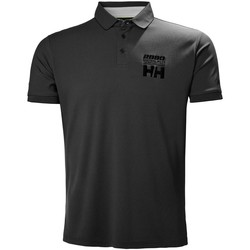 Textiel Polo's korte mouwen Helly Hansen HP RACING POLO EBONY Negro