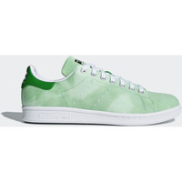 Schoenen Heren Lage sneakers adidas Originals Pharrell Williams Hu Holi Stan Smith Schoenen Groen / Wit / Wit