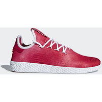 Schoenen Dames Lage sneakers adidas Originals Pharrell Williams Tennis Hu Schoenen Rood / Wit / Wit