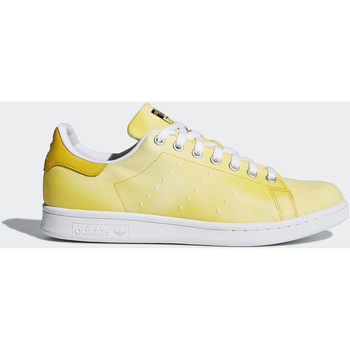 Schoenen Heren Lage sneakers adidas Originals Pharrell Williams Hu Holi Stan Smith Schoenen Geel / Wit / Wit