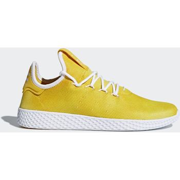 Schoenen Dames Lage sneakers adidas Originals Pharrell Williams Tennis Hu Schoenen Geel / Wit / Wit