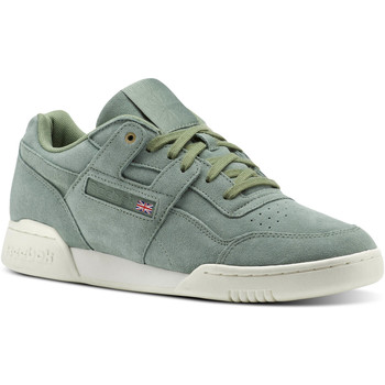 Schoenen Lage sneakers Reebok Classic Workout Plus Montana Cans collaboration Groen / Wit