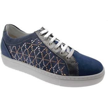 Schoenen Dames Lage sneakers Calzaturificio Loren LOC3787bl blu