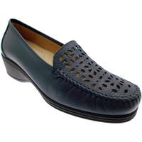 Schoenen Dames Mocassins Calzaturificio Loren LOK3987bl blu