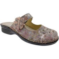 Schoenen Dames Leren slippers Calzaturificio Loren LOM2709ci blu