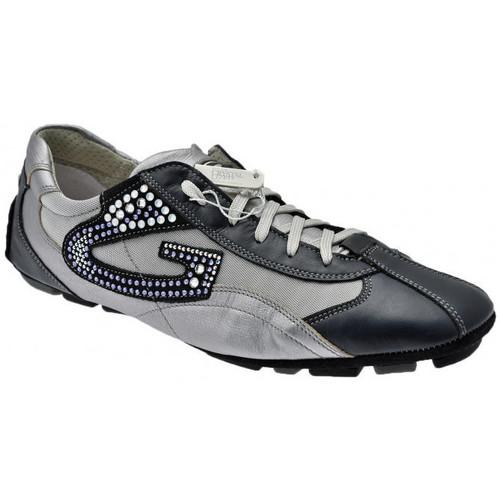 Schoenen Heren Lage sneakers Alberto Guardiani  Blauw