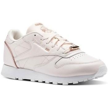 Schoenen Dames Lage sneakers Reebok Sport CL Lthr Roze